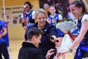 Elena Albu, căpitanul formației de volei CS Medgidia, a fost cerută în căsătorie chiar pe teren, la finalul meciului cu Dinamo