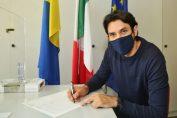 Dragan Stankovic, în momentul semnării actelor prin care a obținut cetățenia italiană