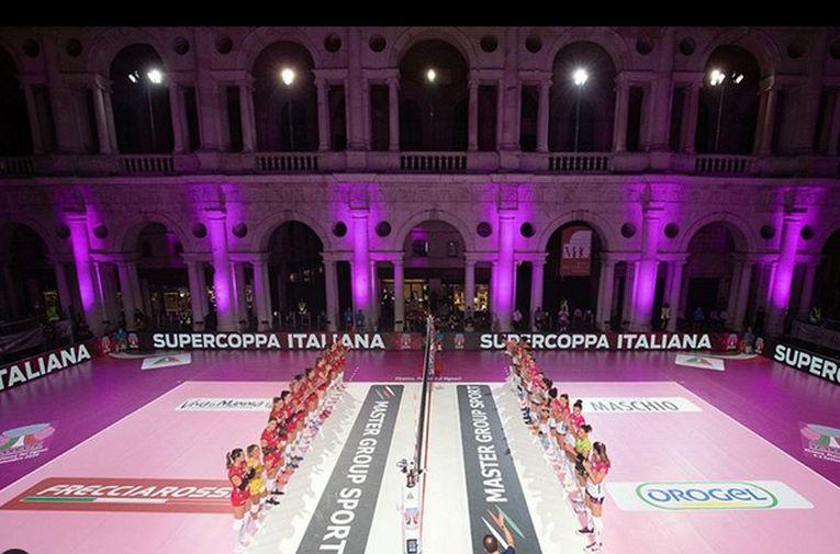 Supercupa Italiei a fost perturbată de condițiile atmosferice