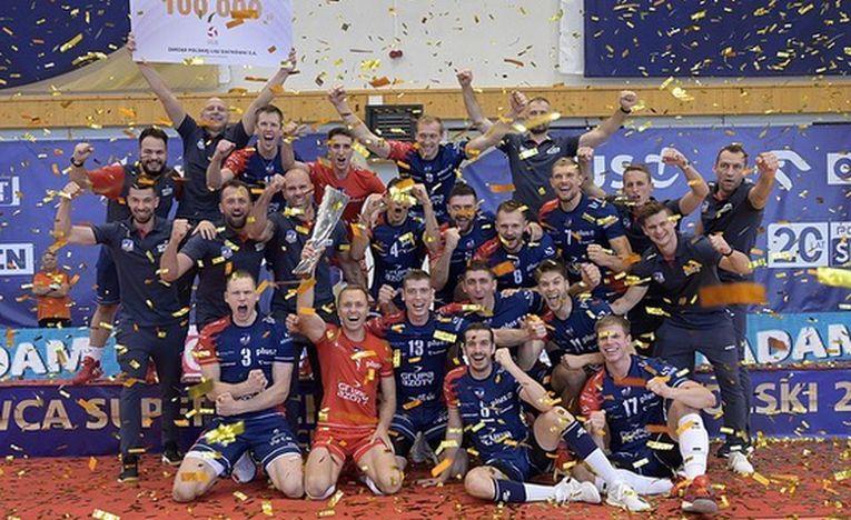 ZAKSA a cucerit pentru a doua oară consecutiv Supercupa Poloniei la volei masculin
