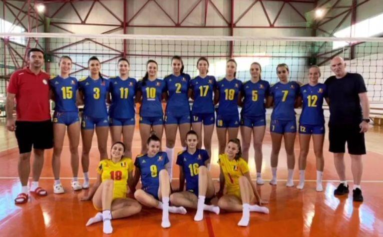 Naționala Under 17 a României în 2020