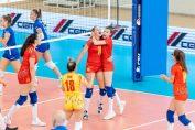 Bucuria româncelor în meciul câștigat cu Slovenia de la Europenele Under 17