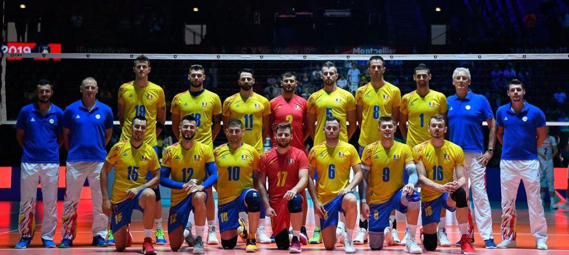 Naționala masculină de volei a României la Campionatul European din 2019