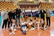 CSM Târgoviște și bucuria calificării în sferturile Cupei CEV