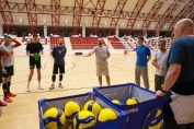 Stevan Ljubicic, la antrenamentul dinamoviștilor