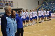 SCM U Craiova la intonarea imnului înaintea meciului cu Steaua