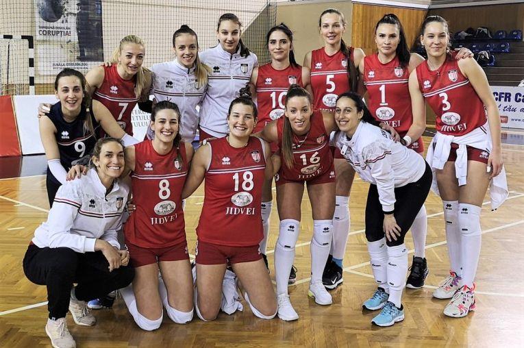 Volei Alba Blaj, după calificarea în semifinalele Cupei României