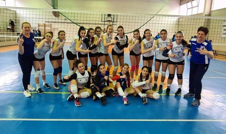 Echipa de cadete CSM București, după primul turneu al campionatului 2020/ 2021