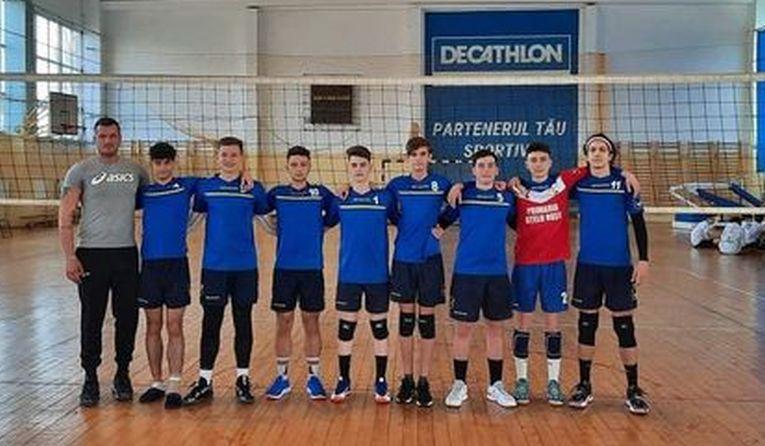 Echipa de cadeți Oțelul Roșu Caransebeș în campionatul 2020/ 2021