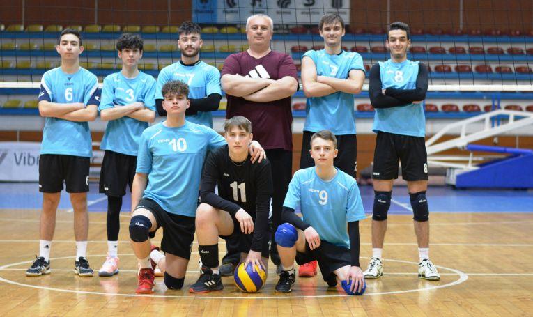 Echipa de cadeți CSS Zalău în campionatul 2020/ 2021