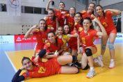Bucuria primei victorii internaționale a jucătoarelor naționalei Under 16 a României