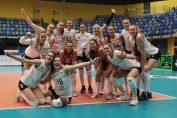 Volei Alba Blaj și bucuria calificării în finala Cupei Challenge