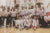 Bucuria celor de la CSM Târgoviște după câștigarea titlului