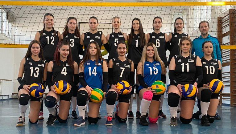 Echipa de junioare CSS Laguna B Hașdeu Constanța pentru sezonul 2020/ 2021