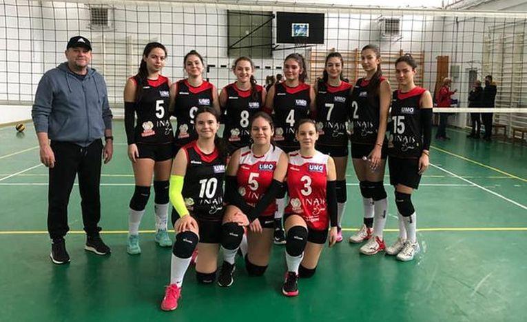 Echipa de junioare CSS Foșcani pentru campionatul 2020/ 2021