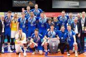 Rareș Bălean și coechipierii săi de la VfB Friedrichshafen, medaliați cu argint în campionatul Germaniei