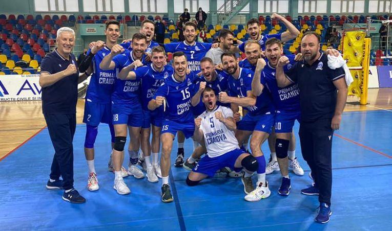 SCM U Craiova a învins campioana