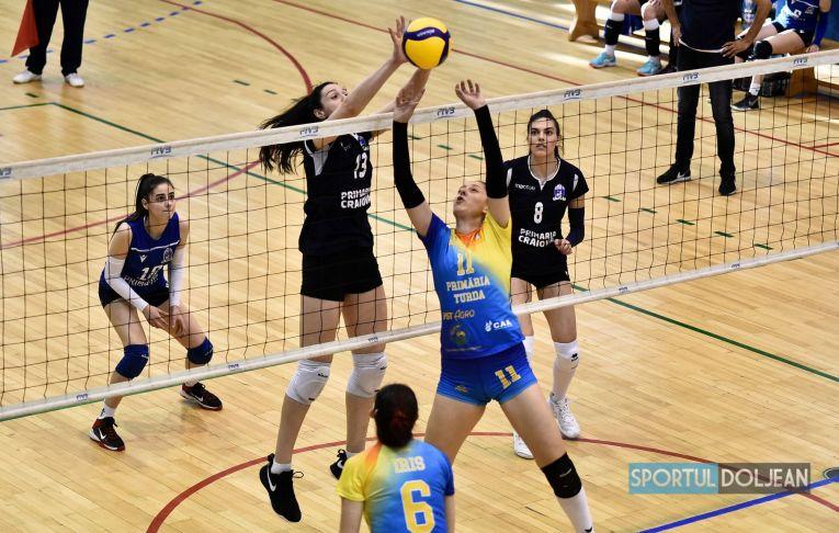 SCMU Craiova a învins cu 3-0 pe ACS Volei Cristina Pîrv Volei
