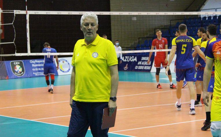 Dănuț Pascu, selecționerul naționalei masculine de volei a României