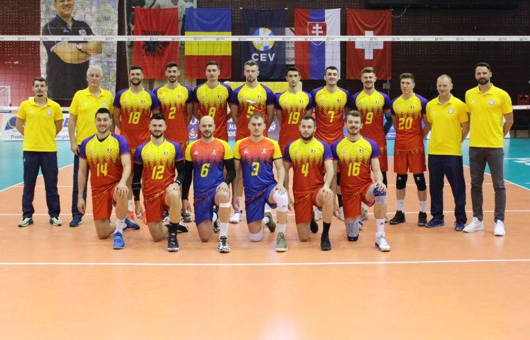 Naționala României înaintea startului turneului de la Ploiești