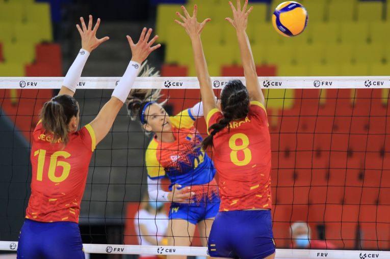Alexia Căruțașu, în atac contra Spaniei, în Golden League