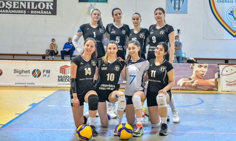 Echipa de cadete Medicina Târgu Mureș, la turneul final al campionatului de cadete