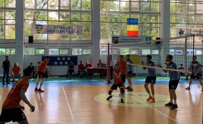 Imagine din meciul CTF Mihai I - CSS Tulcea