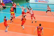 Răzvan Mihalcea, în atac contra Albaniei, în primul meci din preliminariile Campionatului European