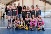 Echipa de minivolei ACS Supervolei 2017 Oradea pentru campionatul 2020/ 2021