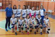 Echipa de minivolei CNNT Craiova pentru campionatul 2020/ 2021