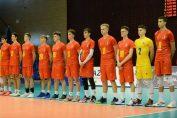 Naționala Under 17 a României înaintea meciului cu Israel, din preliminariile Campionatului European