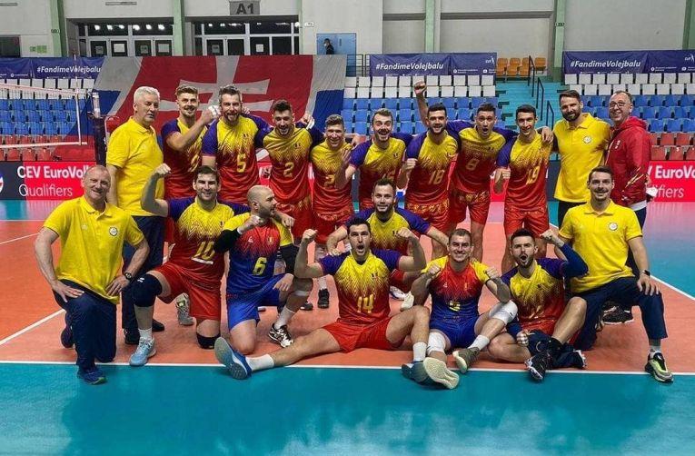 Bucuria românilor după victoria cu Albania
