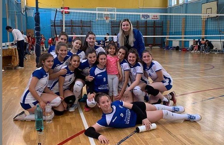 Echipa de speranțe CS Medgidia, după calificarea în turneele semifinale