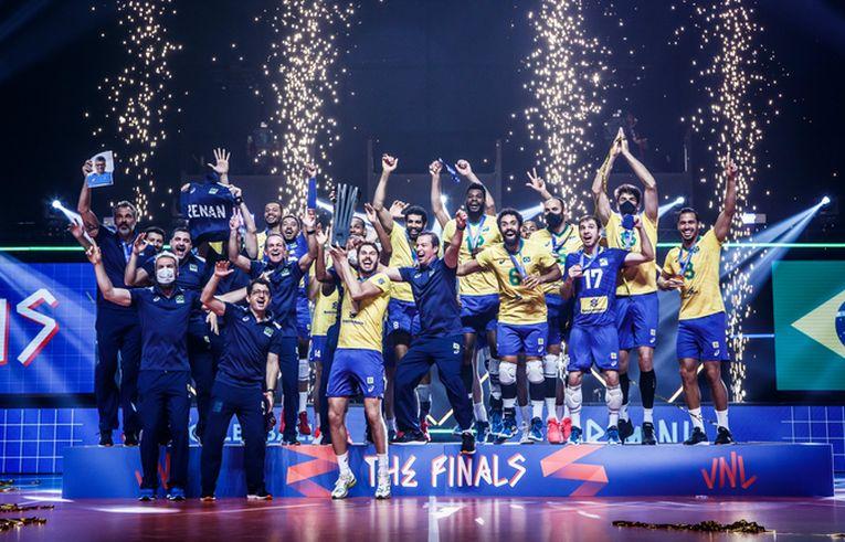 Brazilia a cucerit în premieră titlul în VNL