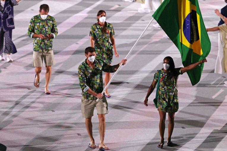 Bruno Rezende a fost în premieră port-drapel al Braziliei la Jocurile Olimpice