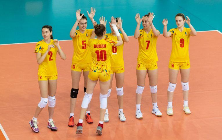 Naționala Under 16 a României la Campionatul European