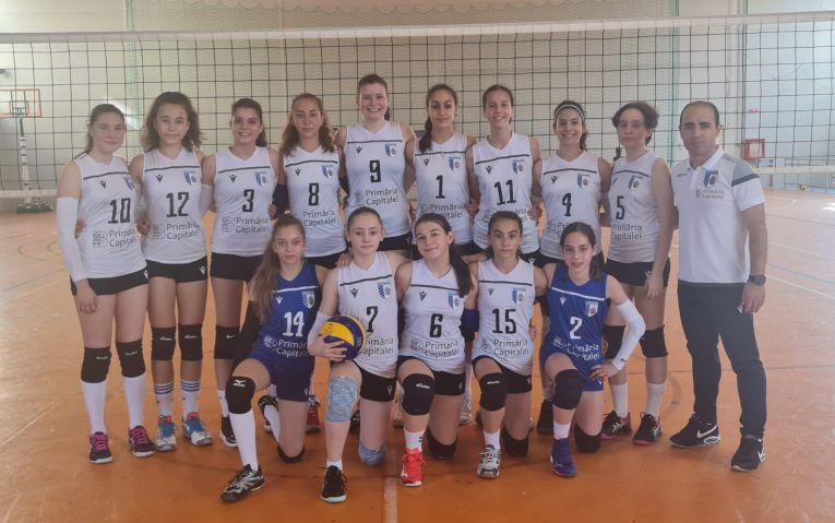 Echipa de speranțe CSM București la turneul final 2021