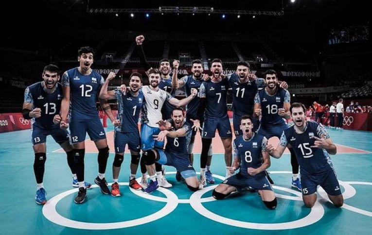 Bucuria argentinienilor după calificarea în sferturile de finală ale Jocurilor Olimpice de la Tokyo