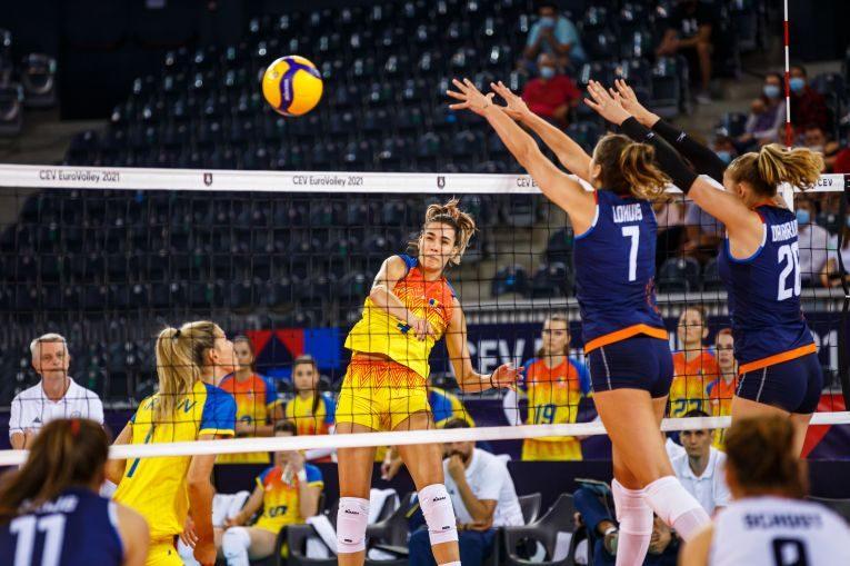 Rodica Buterez în atac contra Olandei