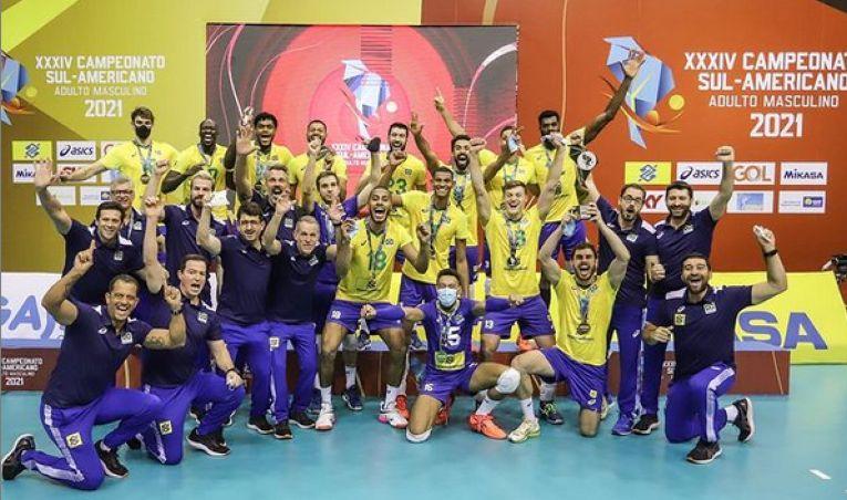 Brazilia a cucerit al 33-lea titlu din tot atâtea participări la Campionatul Americii de Sud