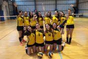 Echipa decadete LPS Bihorul Oradea după victoria din etapa a doua, obținută la Cluj-Napoca