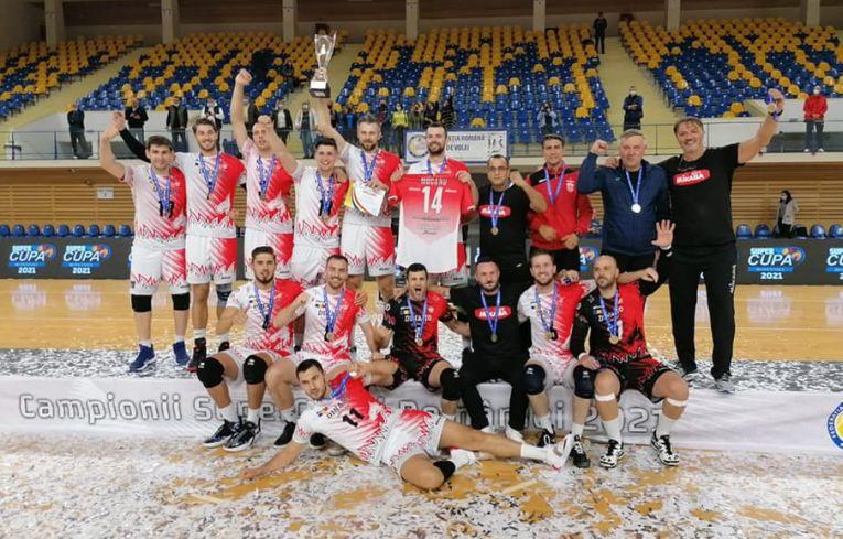 Dinamo a cucerit prima Supercupă a României din istoria sa