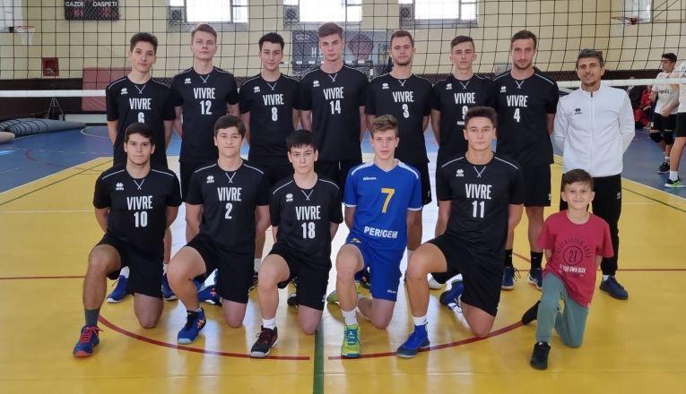 Echipa de juniori CSS Tulcea din campionatul 2021/ 2022