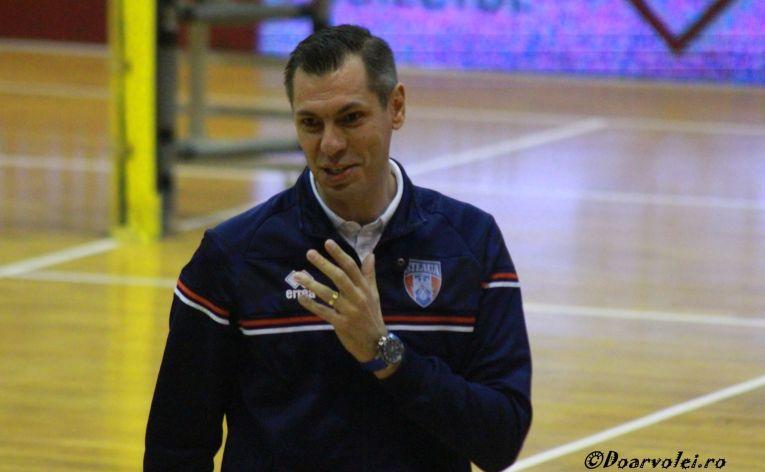Silviu Oancea este antrenorul principal al Stelei din 2019
